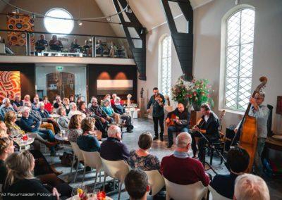 Gipsy Swing trio - wattie rosenberg- joost zoetman, Martin limberger, TaekeStol - concert De verzameling (2)