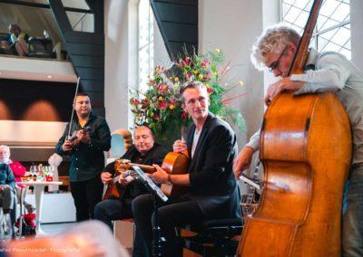 Gipsy Swing trio - wattie rosenberg- joost zoetman, Martin limberger, TaekeStol - concert De verzameling (3)