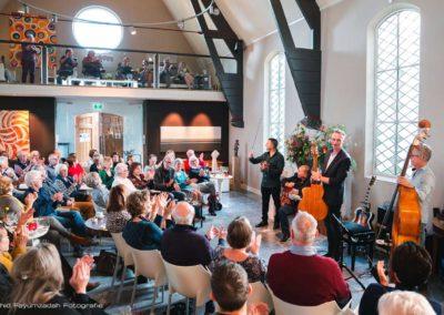 Gipsy Swing trio - wattie rosenberg- joost zoetman, Martin limberger, TaekeStol - concert De verzameling (4)