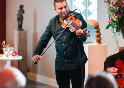 Gipsy Swing trio - wattie rosenberg- joost zoetman, Martin limberger, TaekeStol - concert De verzameling (6)